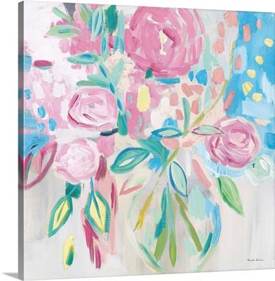 Summer Pink Floral Pastel