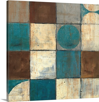 Tango Detail II - Blue Brown