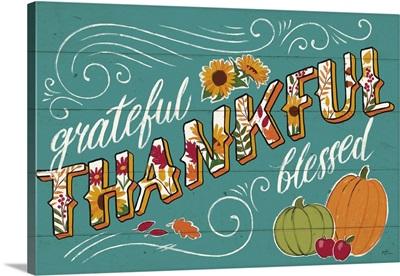Thankful I Turquoise