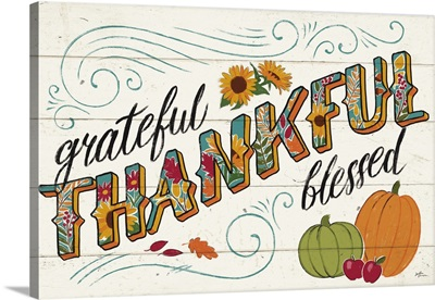 Thankful I White