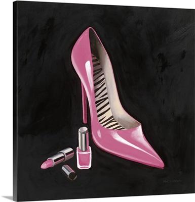 The Pink Shoe I Crop