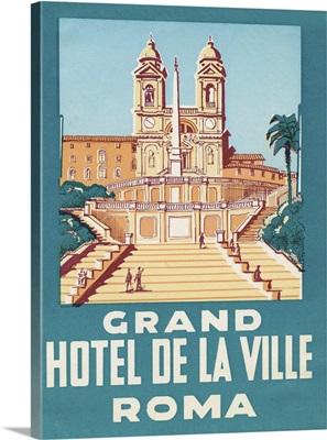 Travel Poster IV