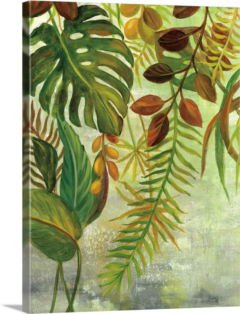 Tropical Greenery I Wall Art Canvas Prints Framed Prints Wall Peels Great Big Canvas They also have a multitude. tropical greenery i solid faced canvas print