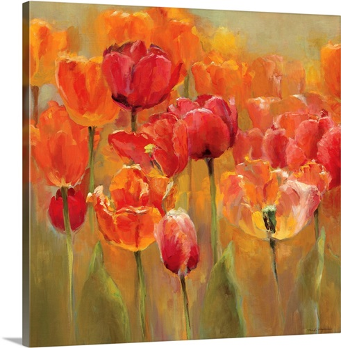Tulips In The Midst Iii Wall Art Canvas Prints Framed Prints Wall Peels Great Big Canvas