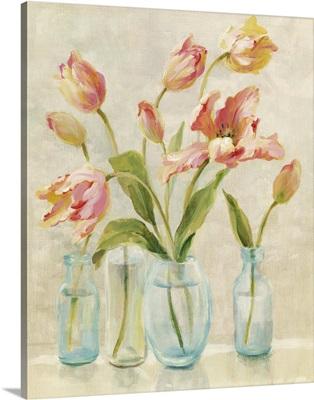 Tulips on Windowsill