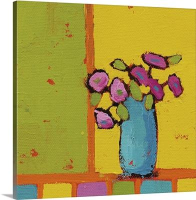 Turquoise Vase Bright