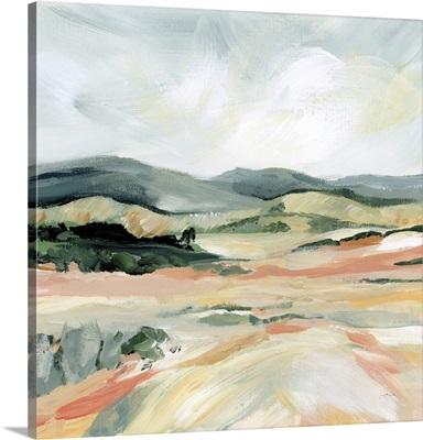 Vermillion Landscape I