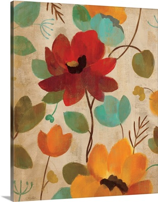 Vibrant Embroidery II