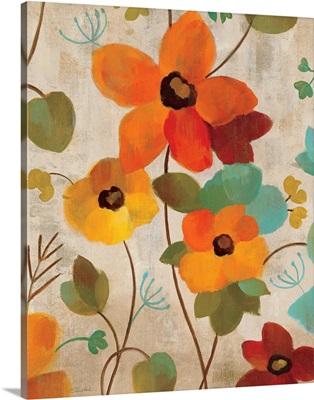 Vibrant Embroidery III