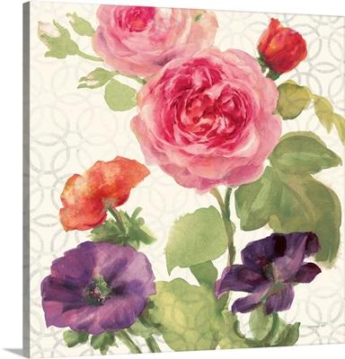 Watercolor Floral III
