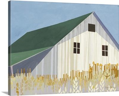 Wheat Fields Green Crop