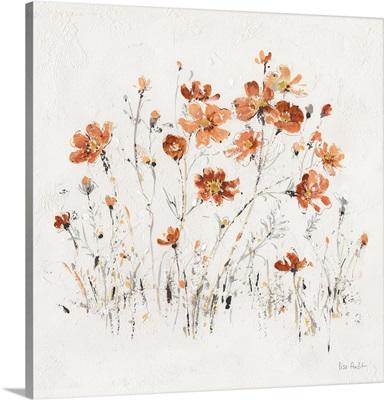 Wildflowers II Orange