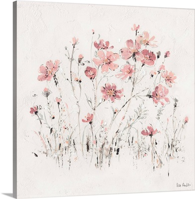 Wildflowers II Pink