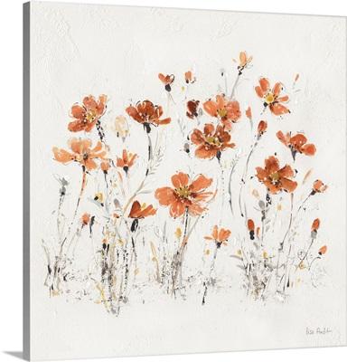 Wildflowers III Orange