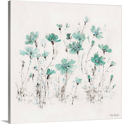 Wildflowers III Turquoise