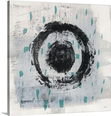 Zen Circle II Crop with Teal