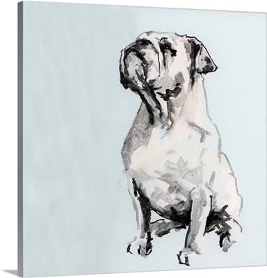 A Very Pastel Modern Dog II