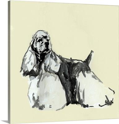 A Very Pastel Modern Dog VII