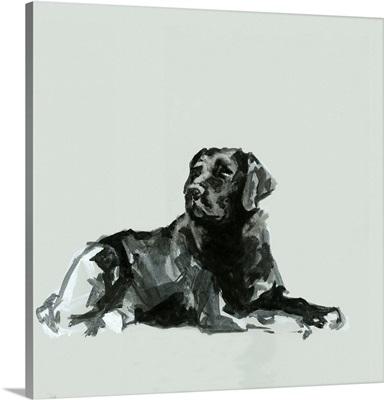 A Very Pastel Modern Dog VIII