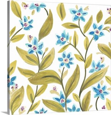 Abbey Floral Tiles IV