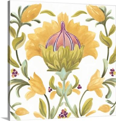Abbey Floral Tiles V