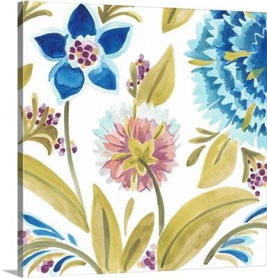 Abbey Floral Tiles VIII