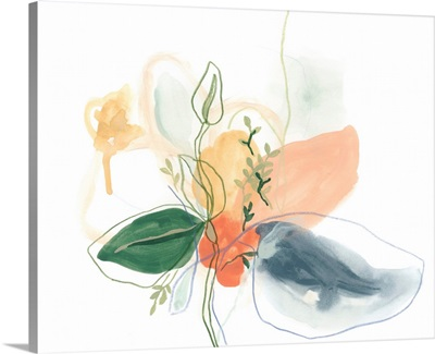 Abstracted Bouquet I