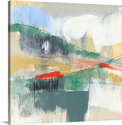 Abstracted Mountainscape I