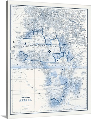 Africa in Shades of Blue