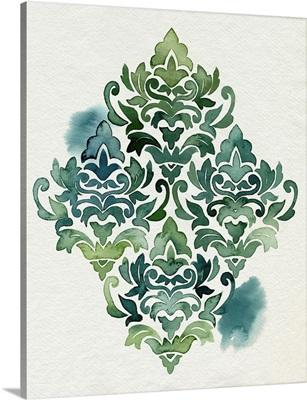 Algae And Azule Motif I