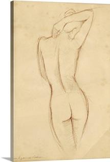 Antique Figure Study I