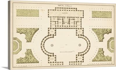 Antique Garden Plan II