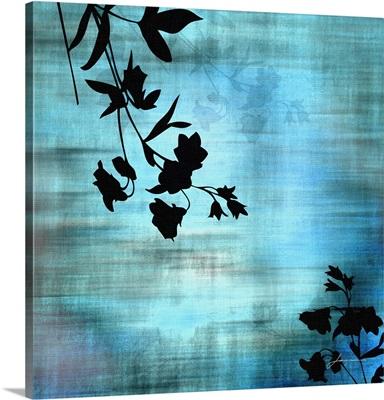 Aqua Floral II