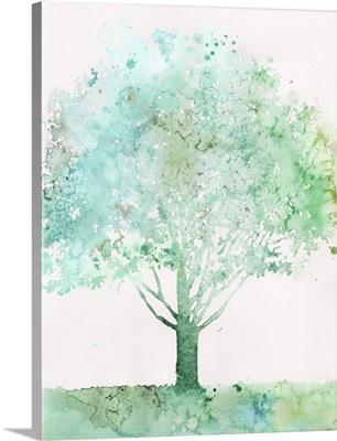 Aquamarine Tree I