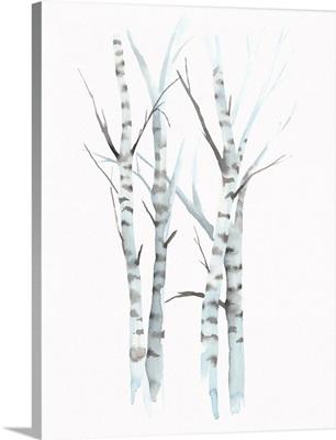 Aquarelle Birches I