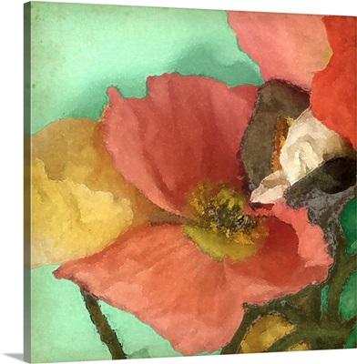 Aquatic Poppies I