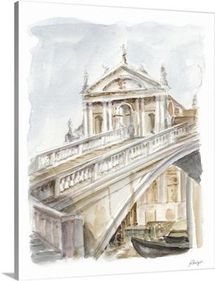 Architectural Watercolor Study I
