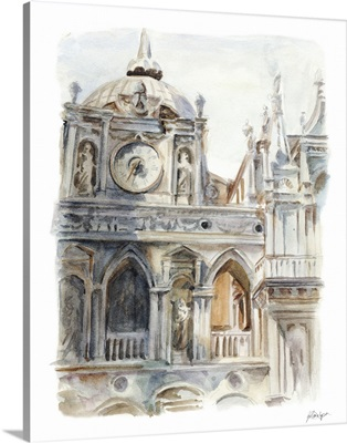 Architectural Watercolor Study II