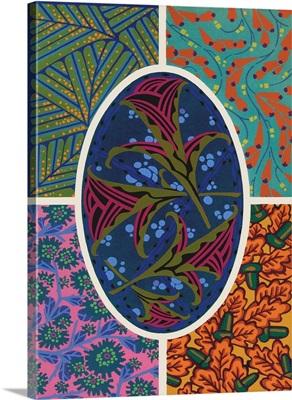 Art Deco Florals II