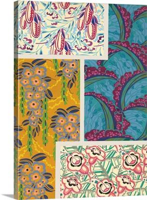 Art Deco Florals III