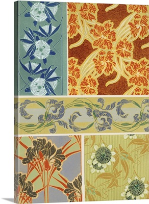 Art Deco Florals IX