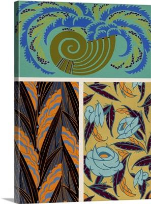 Art Deco Florals VI