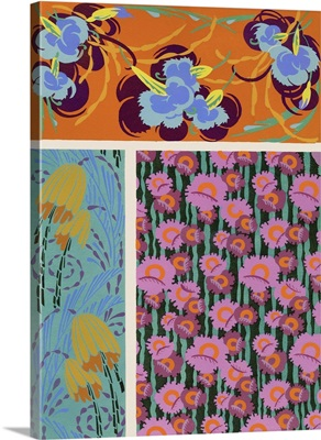 Art Deco Florals VII