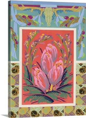 Art Deco Florals VIII