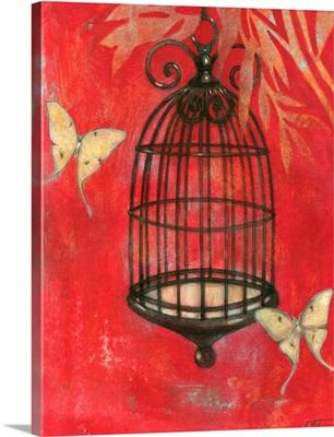 Asian Bird Cage I