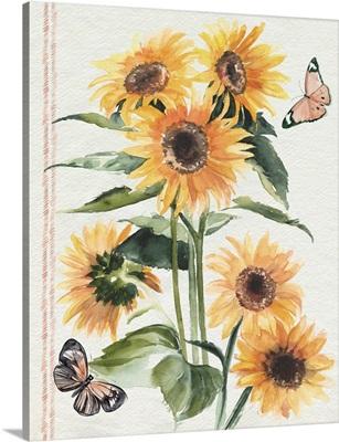 Autumn Sunflowers I