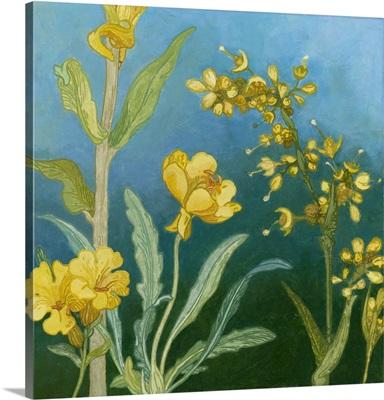 Azure Blooms I