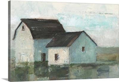 Barn At Sunset II