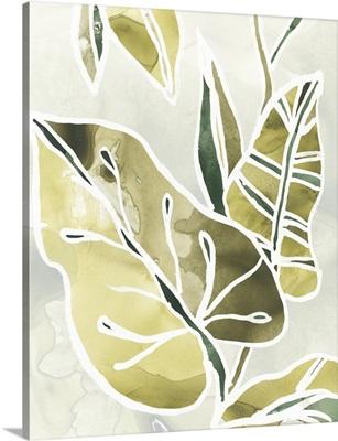 Batik Leaves I