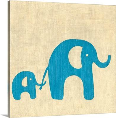 Best Friends - Elephants
